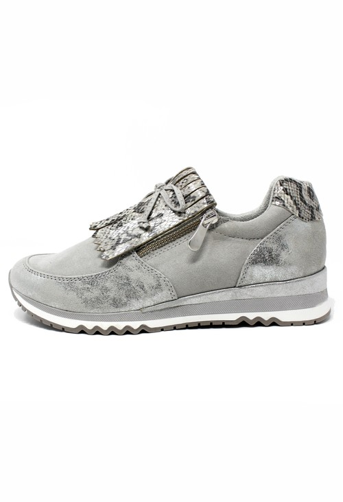 Marco Tozzi Grey Coloured Trainer