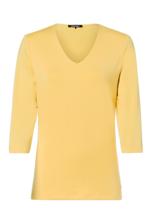 Olsen V-Neck Yellow Knit