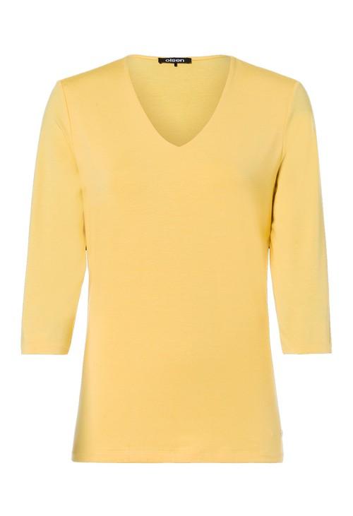 Olsen V-Neck Yellow Knit