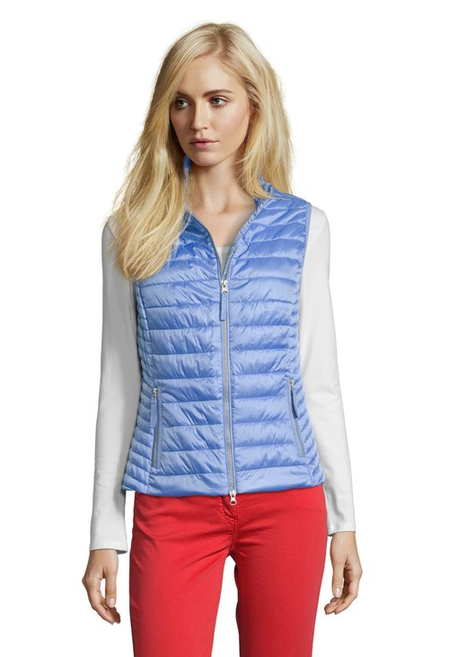 Betty Barclay Ocean Blue Quilted Gilet