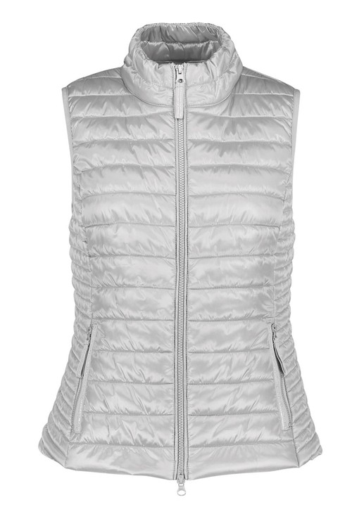 Betty Barclay Silver Quilted Gilet