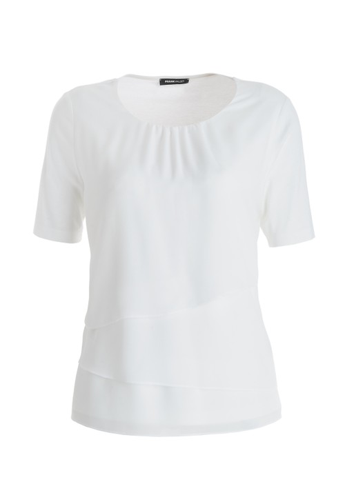 Frank Walder Tiered White Top
