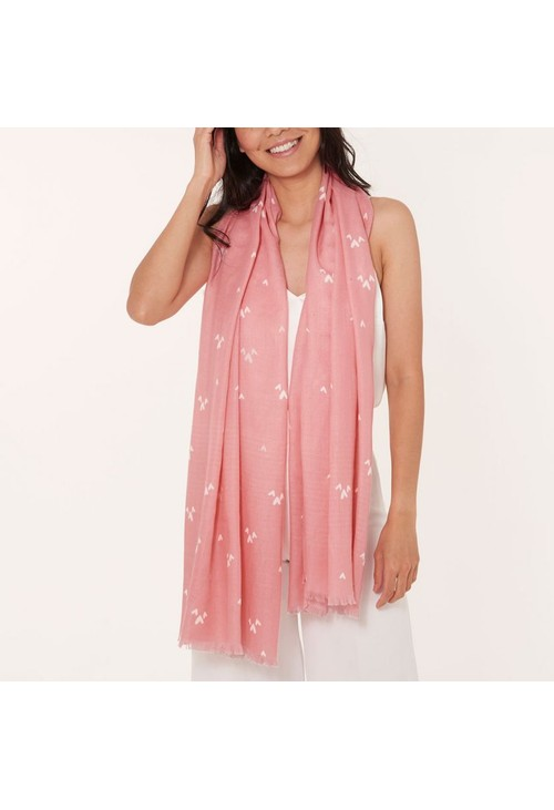 Katie Loxton WRAPPED UP IN LOVE BOXED SCARF   MUM IN A MILLION   BLUSH PINK