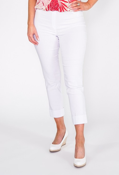 Anna Montana White Magic Shape Capris