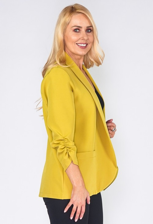 Zapara Lime Green Blazer