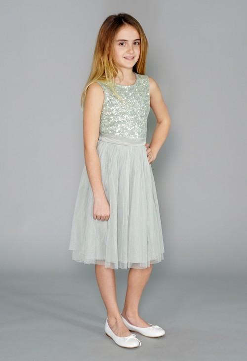 Maya Sage Mini Maya Dress