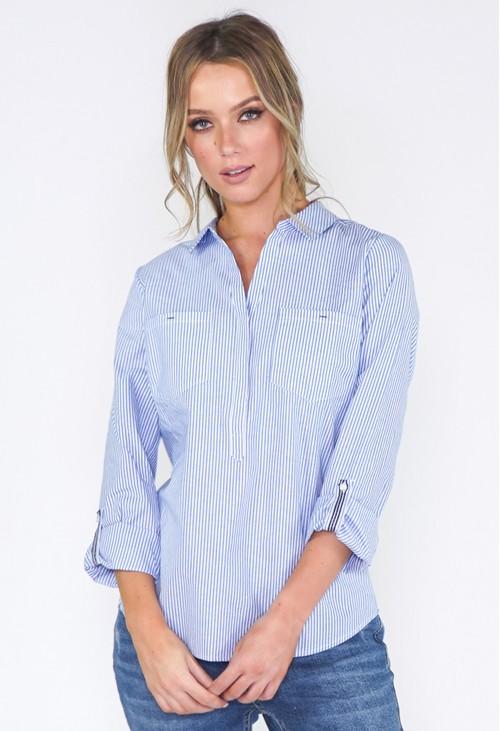 Twist Striped Shirt