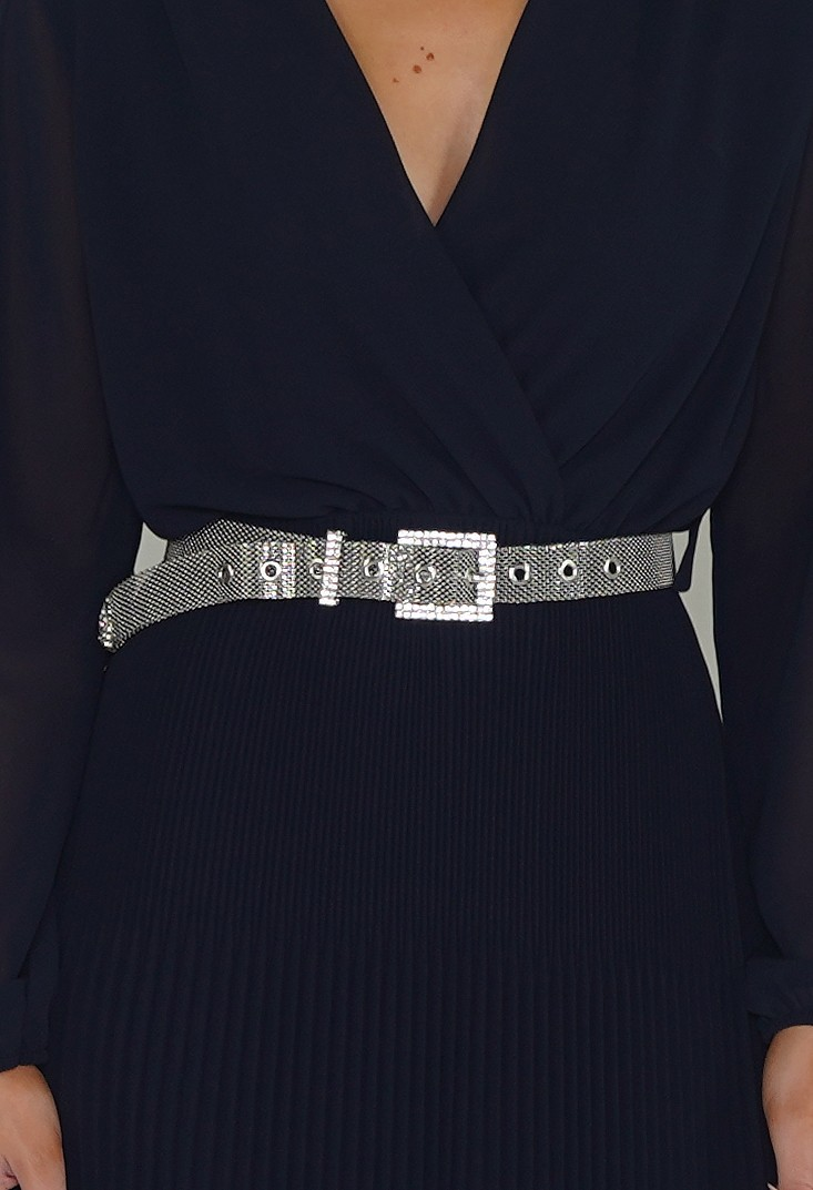 PS Accessories Silver Belt