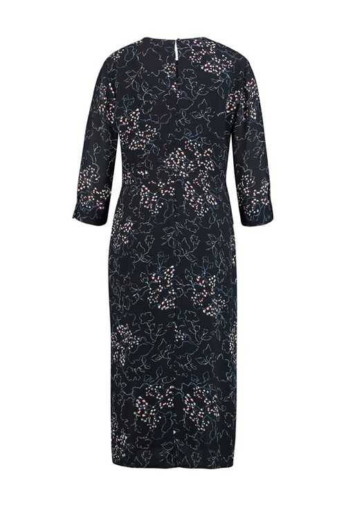 Gerry Weber FLORAL PRINT LONG SLEEVE DRESS