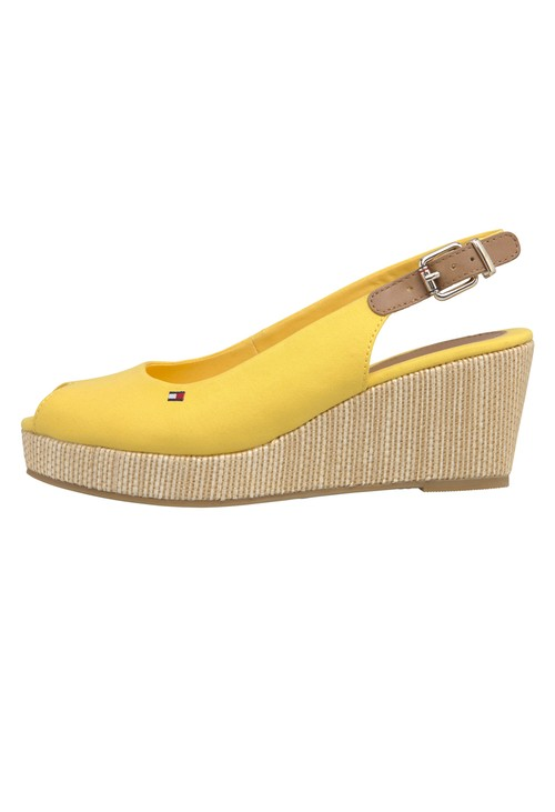 Tommy Hilfiger Sunny Peep Toe Sling Back low Wedge