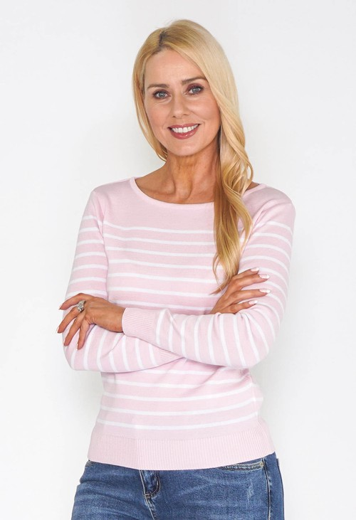 Twist Timeless Stripe Pullover