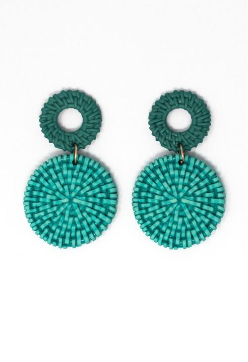 Pamela Scott Turquoise Earrings