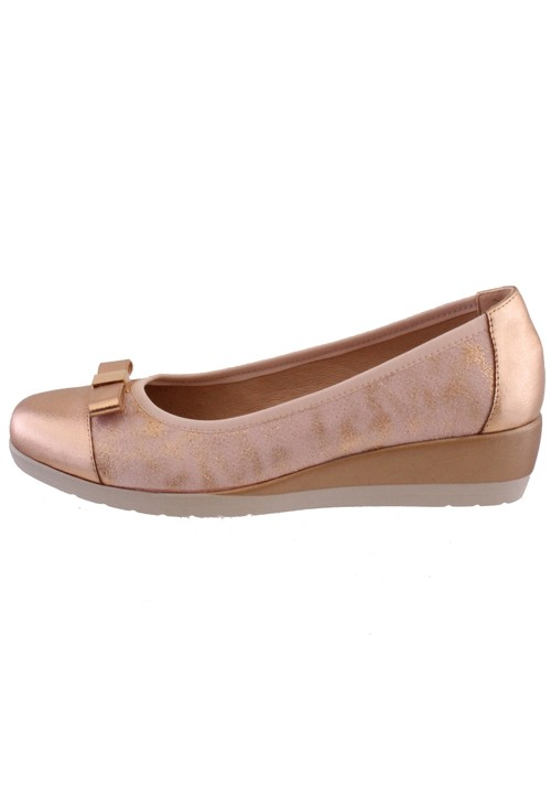 Susst Dolly Rose Gold Slip On Shoe