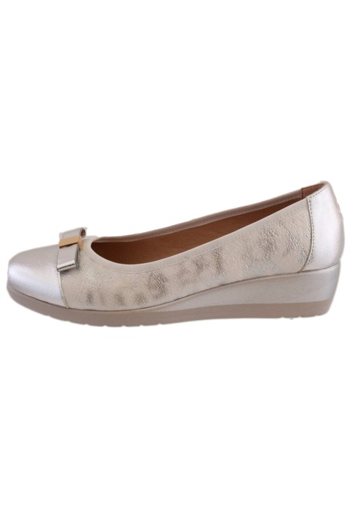 Susst Dolly Silver Slip On Shoe