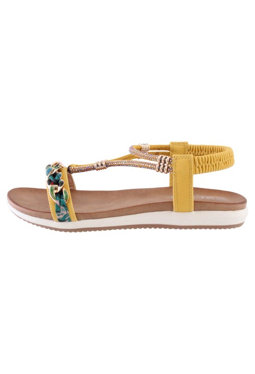 Susst Yellow Judy Sandals