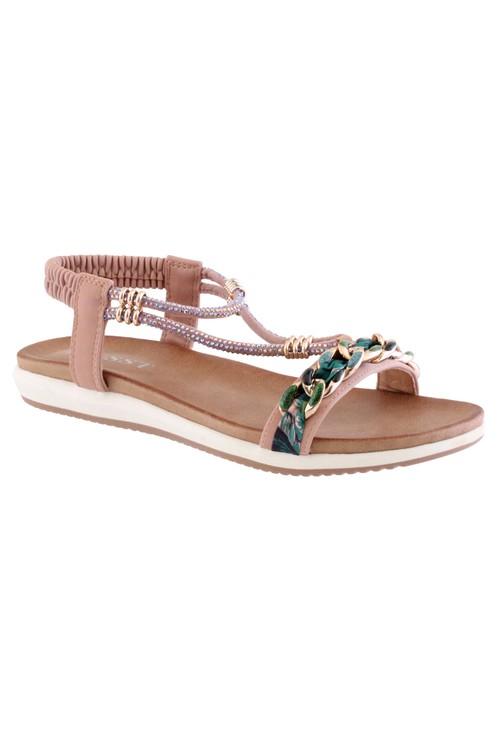 Susst Pink Judy Sandals