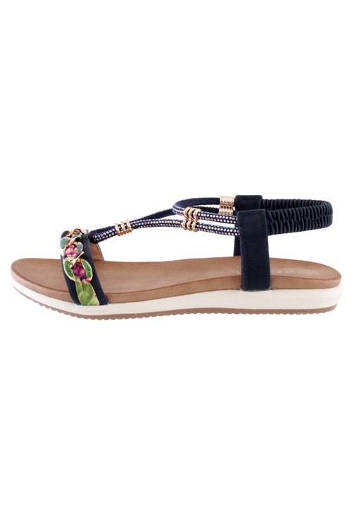 Susst Navy Judy Sandals