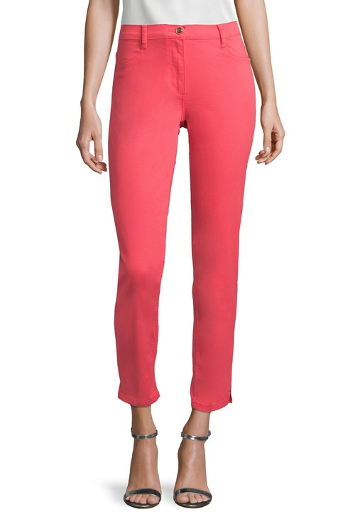 Betty Barclay basic trousers with side slits