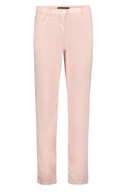 Betty Barclay Pale Peach Slim Fit Trousers