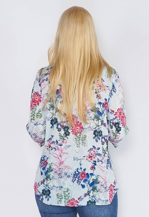 Sophie B Sage Green Floral Top