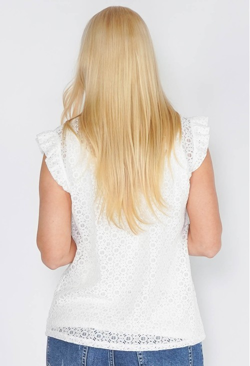 Sophie B Lace Sleeveless Top