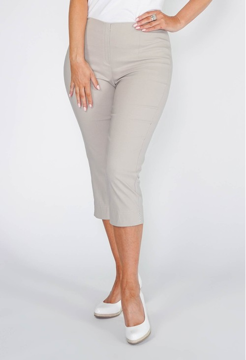 Anna Montana SAND MAGIC SHAPE CAPRIS WITH DIAMANTE DETAIL
