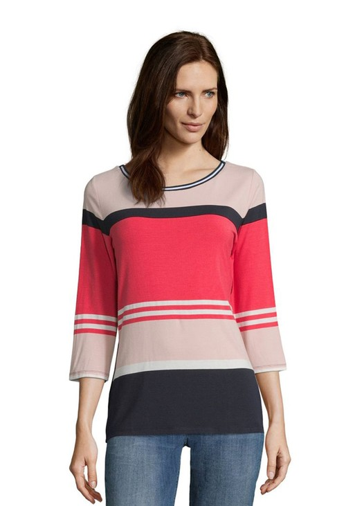 Betty Barclay Colour Block Top