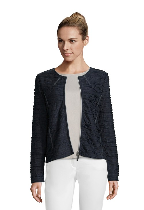 Betty Barclay Waffle Zipped Jacket