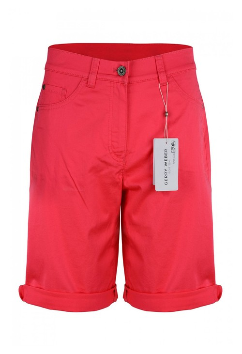 Gerry Weber Cotton Shorts in pink