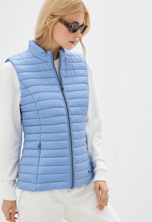 Gerry Weber sky blue quilted gilet