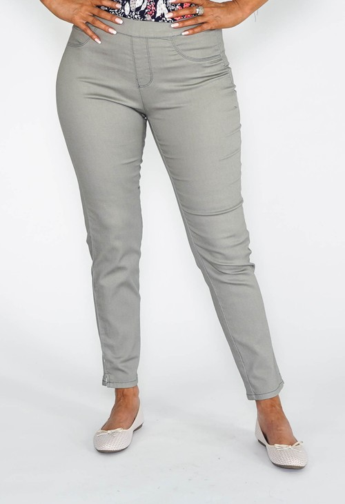 Twist Khaki Jegging