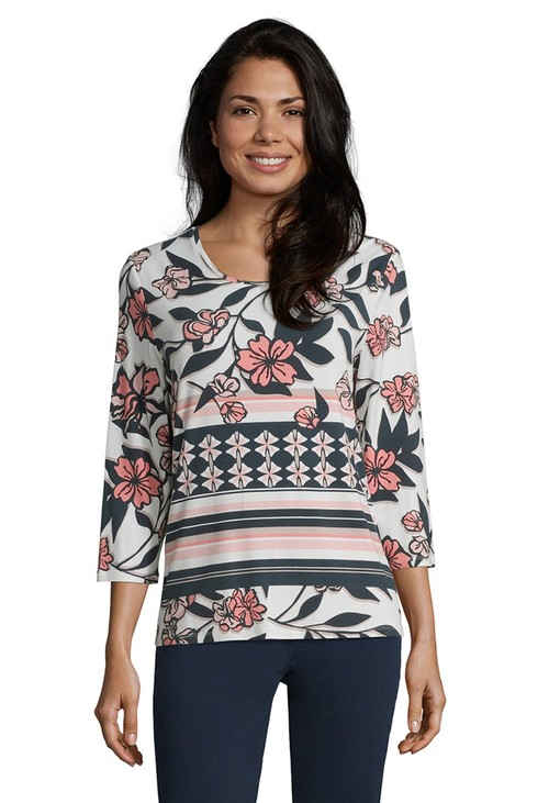 Betty Barclay basic shirt with floral print