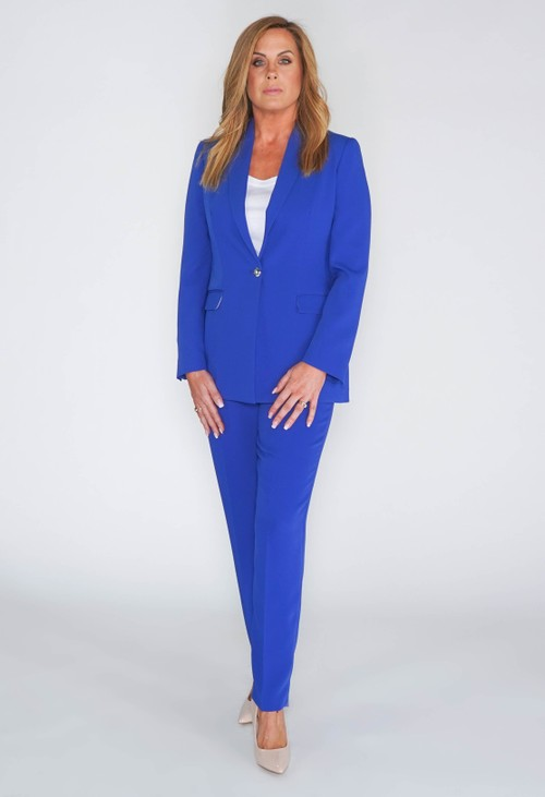 Pamela Scott Royal Blue Trousers